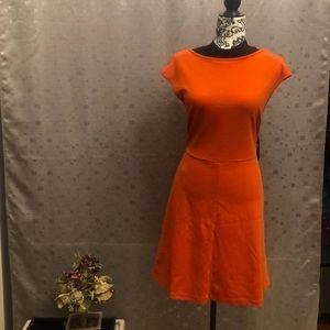 Beautiful NY&C Red dress Midi size Large